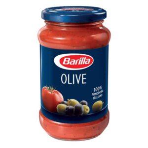 Sos rosii cu masline Barilla 400g | Livrare la domiciliu Foodstop